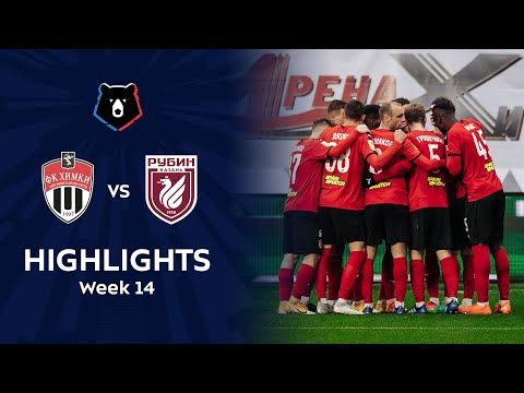 Khimki Rubin Kazan Goals And Highlights