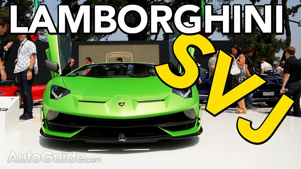 2019 Lamborghini Aventador SVJ Revealed