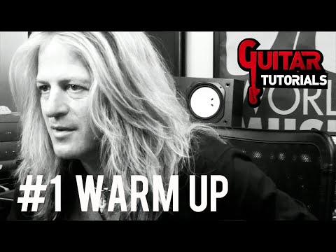 Doug Aldrich Guitar Lesson - #1 Warm Up - GuitarTutorials