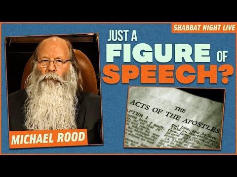 It's Just A Figure Of Speech | Shabbat Night Live