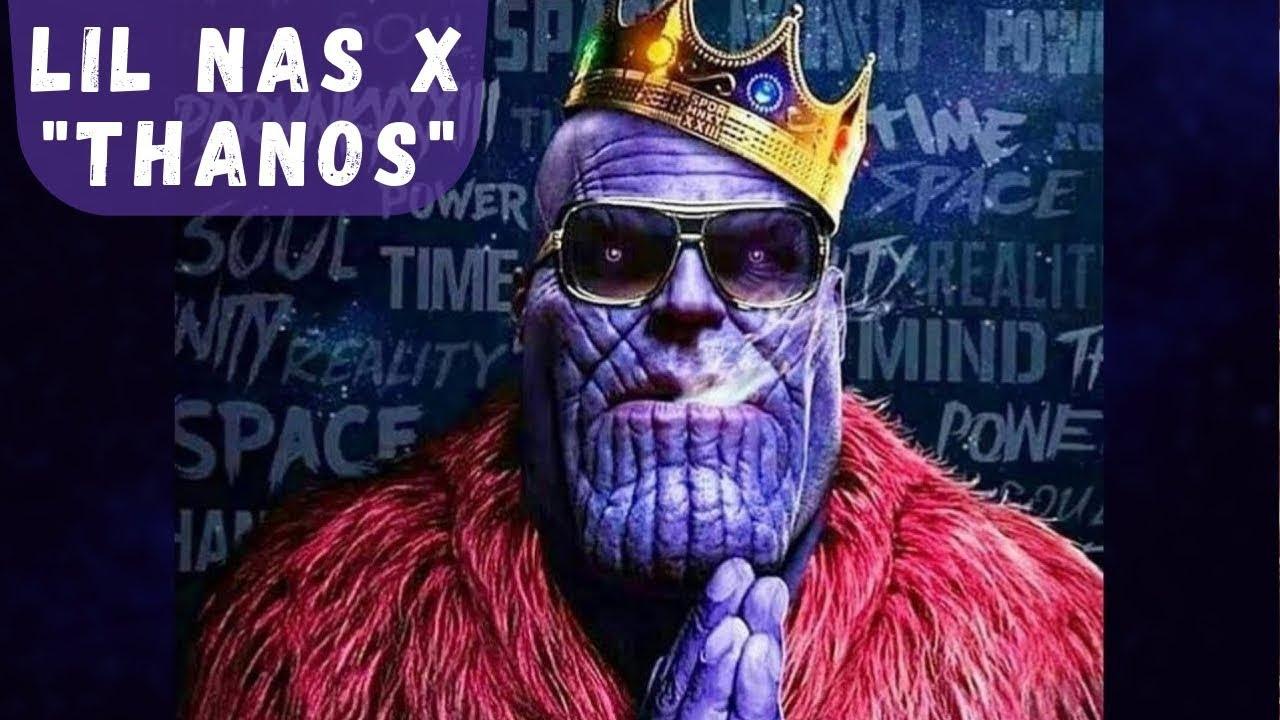 Lil Nas X Thanos Lyric Video Youtube