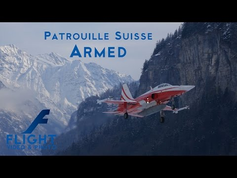 Patrouille Suisse ARMED Northrop F-5E Tiger II J-3084 J-3088 J-3089