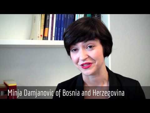 Minja Damjanovic of Bosnia and Herzegovina