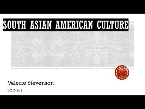 SOC 201 Ethnic Group - South Asian American Culture