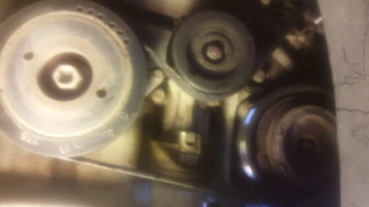2003 Hyundai Xg350 Engine Diagram Remove Serpentine Belt On 2005 Hyundai Santa Fe Youtube