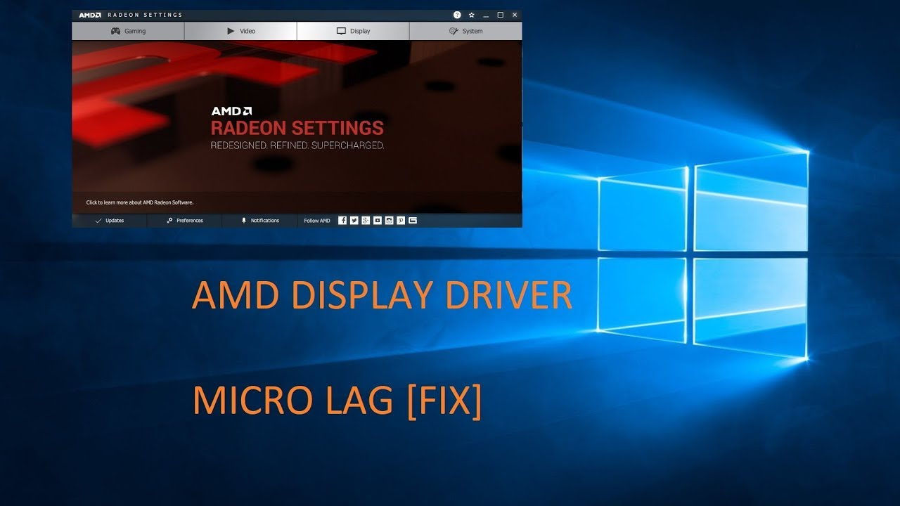 Cursor lag due to amd drivers FIXED