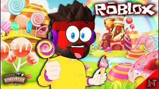 ROBLOX Indonesia #144 Mining Simulator | Enter the world of Candy Sultan