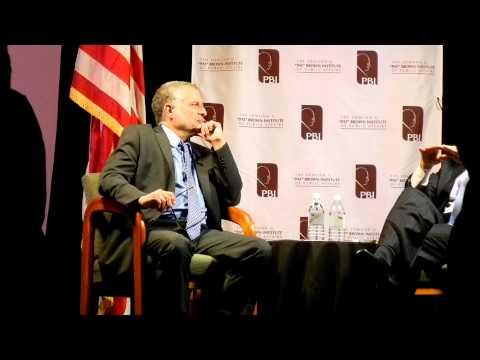 Mayor of Los Angeles Antonio Villaraigosa' conversation at Cal State LA pt.1