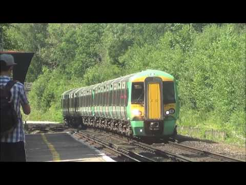 Trains at Balcombe Station, 17th June 2017 ft. trainmania100