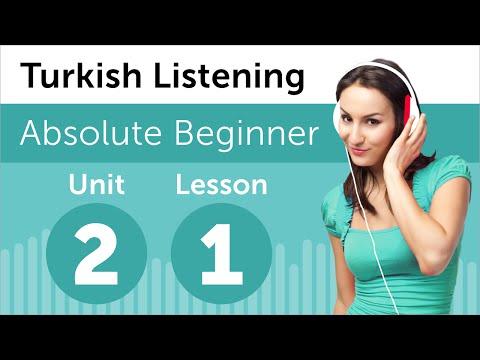 Turkish Listening Practice - Seeing a Movie in Turkey
