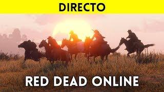 STREAMING español RED DEAD ONLINE (XBOX ONE X) - El multijugador de Red Dead Redemption 2