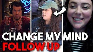 'CHANGE MY MIND' FOLLOW UP: Pro-Choice Student Returns