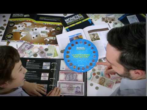 Spot tv Monete e Banconote del mondo edizione 2017