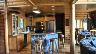 Northern Michigan Log Cabin for sale-Mullet Lake access.
