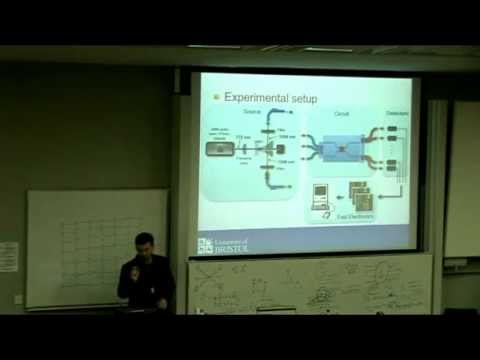 Jeremy O'Brien –  Optical implementations of quantum information theory – QuICC Lecture 3