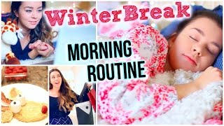Winter Morning Routine!