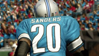 ULTIMATE LEGEND BARRY SANDERS GAMEPLAY - Madden 25 Ultimate Team Gameplay
