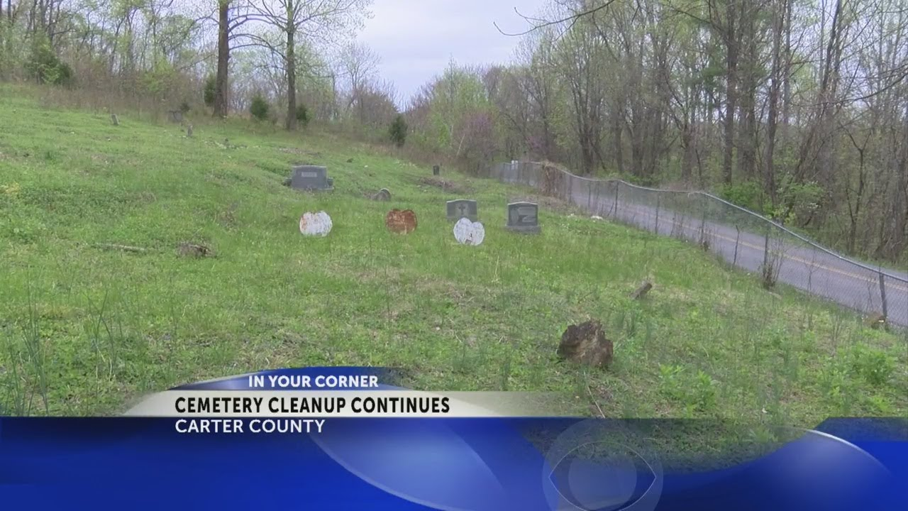 Cleanup at blighted slave cemetery in Carter County nearing completion