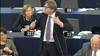 Guy Verhofstadt: Biggest waste of EU resources is Nigel Farage
