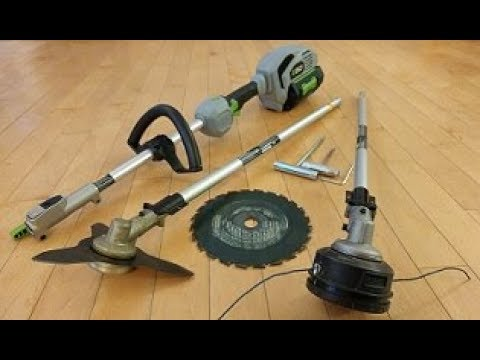 How to Attach Brush Cutter Blades to your EGO Trimmer