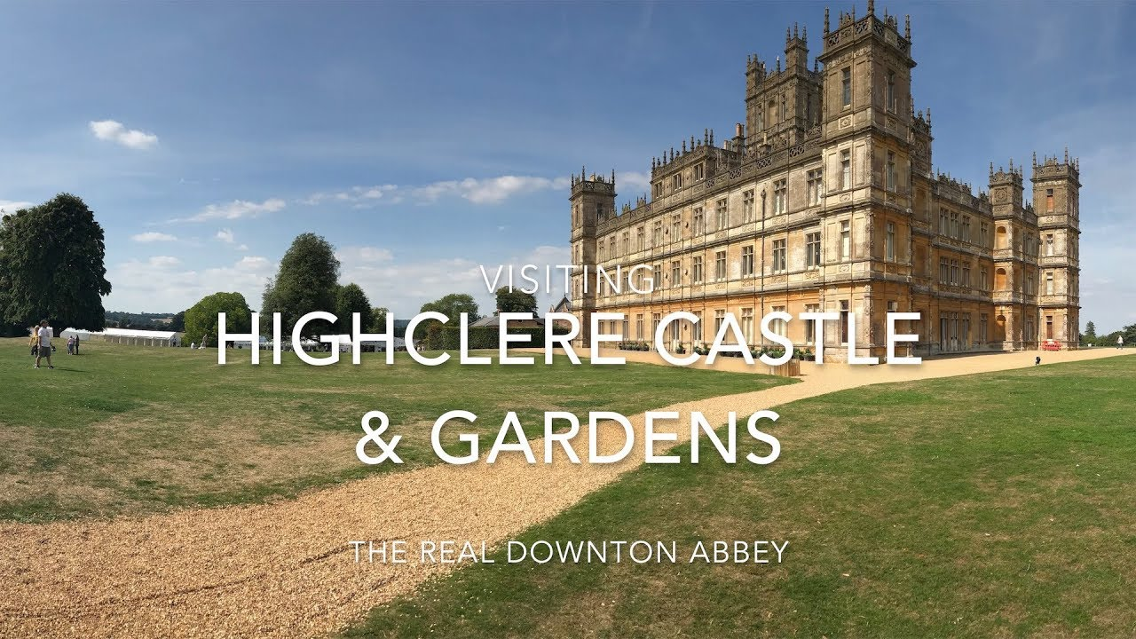 Visiting Highclere Castle The Real Downton Abbey Youtube