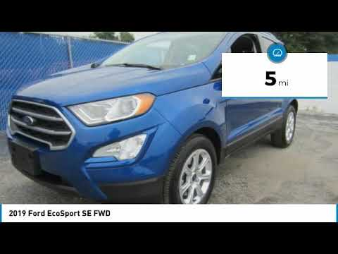 2019 Ford EcoSport 19T426