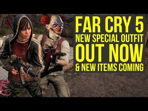 Far Cry 5 Dlc Get New Special Outfit Before It S Gone New Items Coming Far Cry 5 News Youtube