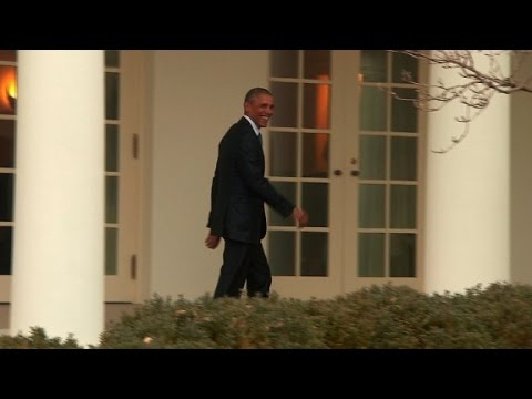 Thumbnail: Obama leaves Oval Office for final time as President