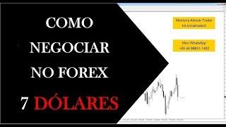 COMO NEGOCIAR NO FOREX | Análise 7 Dólares - 25 a 29/03/2019 - Vídeo 82 de 365