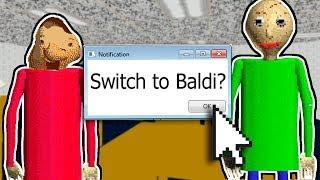 BECOMING BALDI? | Baldi's Basics In Education And Learning (Play As Baldi Mod)