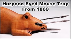 A Wicked Harpoon Eyed Spring Loaded Mouse Trap From The Civil War Era. Mousetrap Monday