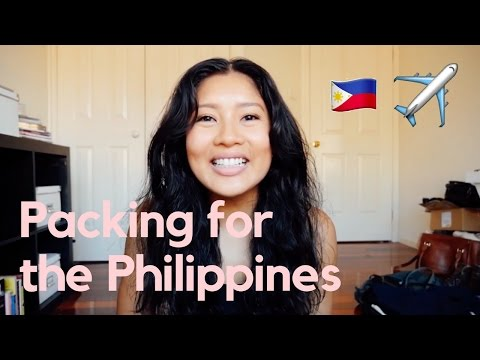 Life in the Philippines 🇵🇭 Ep. 001: What I'm packing for my travels to the Philippines!