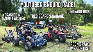 We Held the First Ever BACKYARD 300!! | 7 Way Endurance Race, Jump Contest, Rock Crawl!