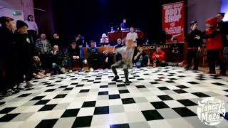 No Gravity i Niku vs Igor i Marcel | Finał Bboying 2vs2 do 11 lat - Radomskie Dwójki XIV
