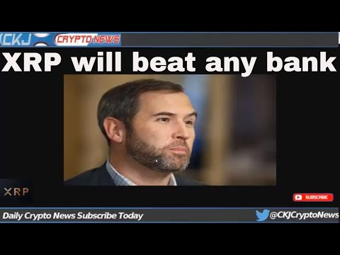 Ripple CEO Brad Garlinghouse Says XRP Will Beat Any Bank-Backed Crypto