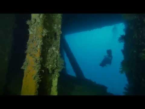 DIVING THE WRECK OF THE SS PRESIDENT COOLIDGE - ESPIRITU SANTO - VANUATU