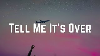 Avril Lavigne - Tell Me It's Over (Lyrics)
