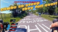 Full gas climbing on CÔTE DE LA REDOUTE - KlimClassic 2017 #cycling Holland