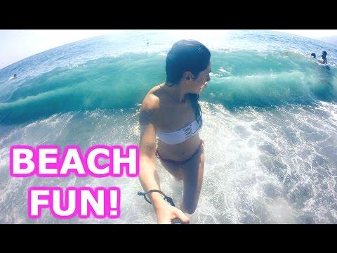BEACH FUN! - TRAVEL VLOG 408 SPAIN   ENTERPRISEME TV