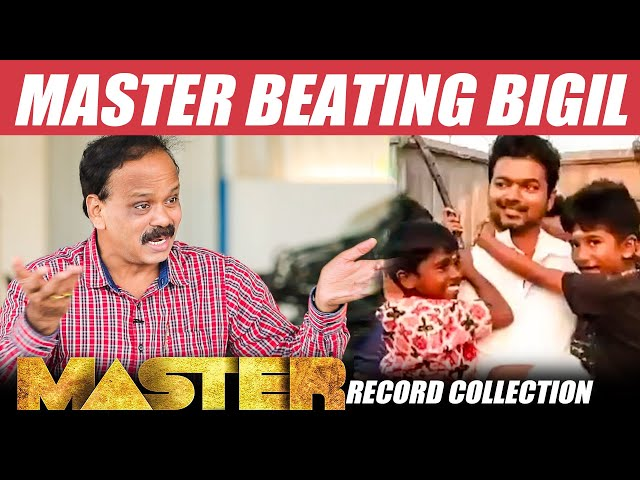 MASTER BOX OFFICE : Record Breaking 200 Crore - Dhananajayan   Report   Collection   Master Business