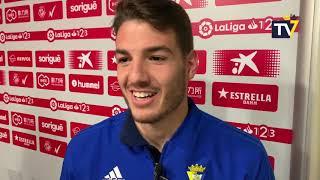 Manu Vallejo tras Nástic-Cádiz (23-02-19)