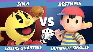 GOML 2020 SSBU - EMP | Sinji (Pac-Man) Vs. ARM | BestNess (Ness) Ultimate Losers Quarters