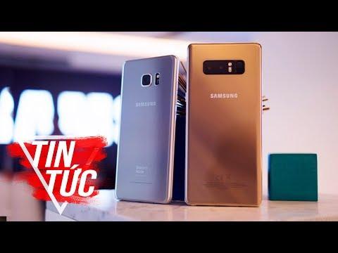 FPT Shop - So Sánh Galaxy Note 8 Và Galaxy S8 Plus