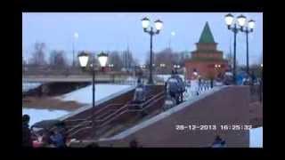 Олимпийский Огонь в Йошкар Оле Мост Набережная Брюгге(Олимпийский Огонь в Йошкар-Оле Мост Набережная Брюгге продолжение на видео http://youtu.be/J9RzsY9E6_A На видео запечат..., 2013-12-28T17:40:31.000Z)