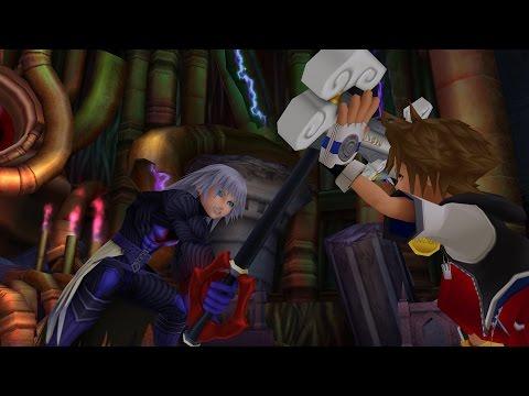 Kingdom Hearts: Riku Boss Fight / Keyblade Form (PS3 1080p)