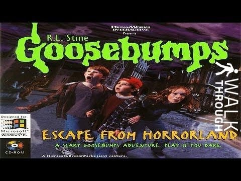 Goosebumps 1 :  Escape From Horrorland (1996) | Longplay HD - When Jeff Goldblum Played Dracula