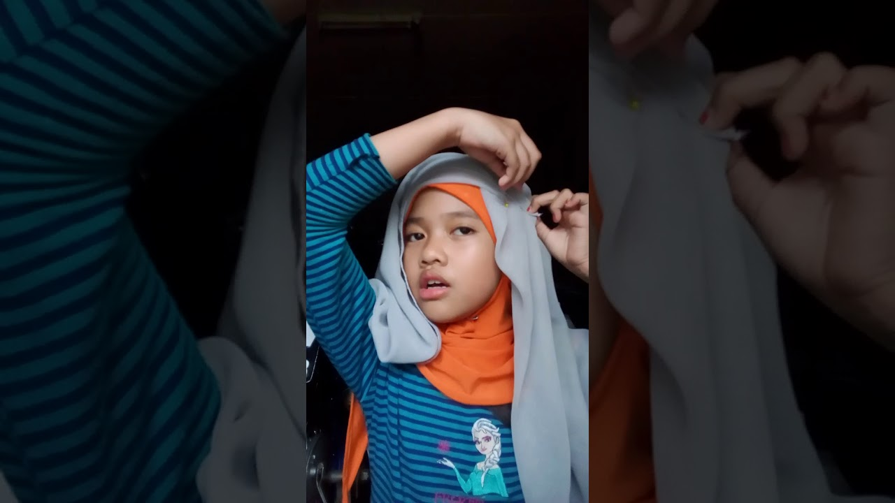 Tutorial Hijab Ala Barbie Bel Segi Tiga Youtube