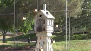Ferris Wheel Bird Feeder 2