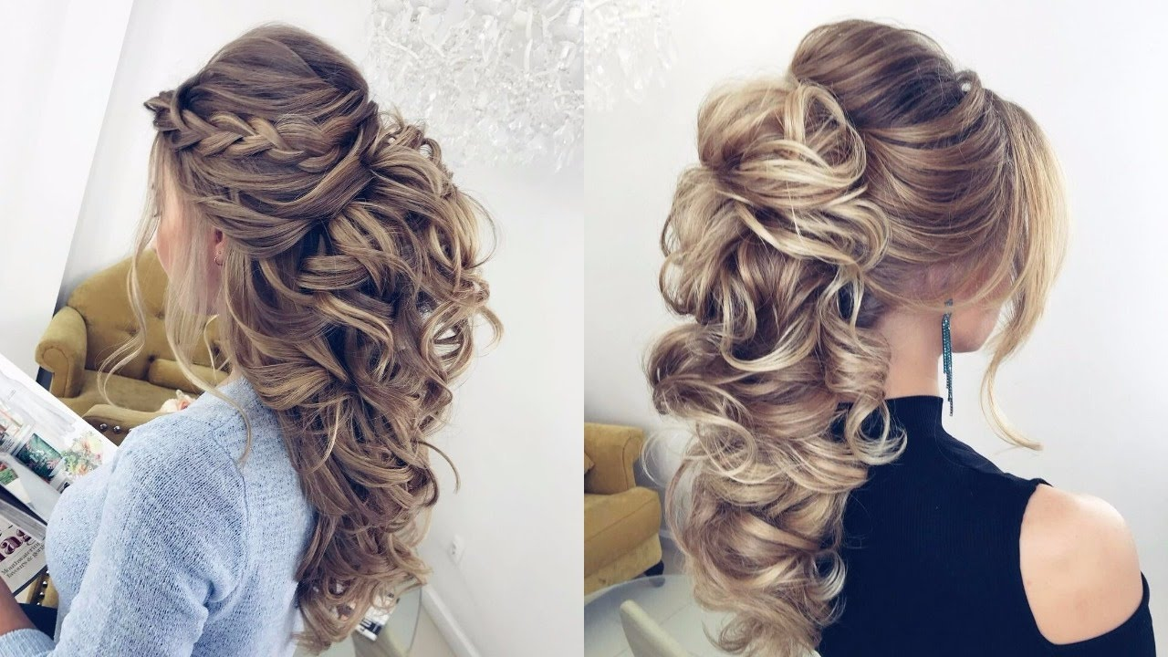 bridal hairstyles for balayage ombre hair | wedding hairstyles