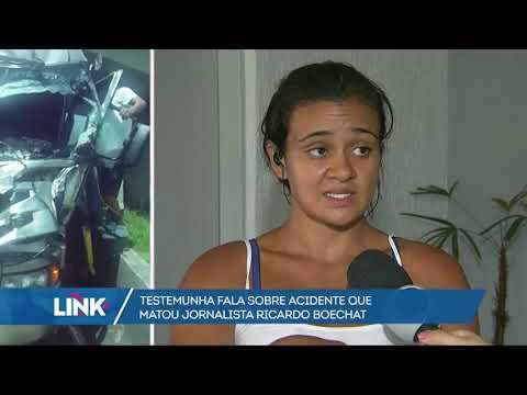 Testemunha fala sobre acidente que matou jornalista Ricardo Boechat